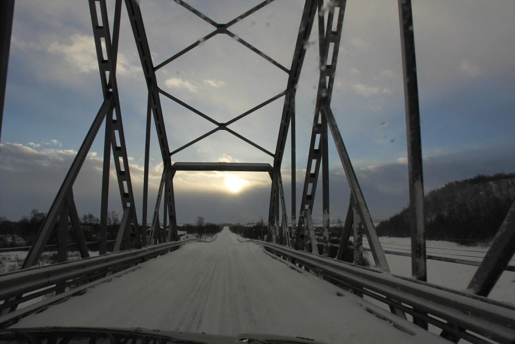 Smukke broer over elvene møder vi på vores vej mod syd.