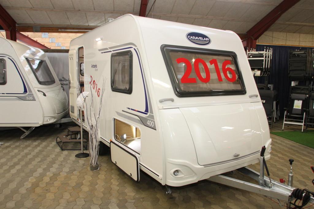 Nye vogne i udstillingen fra LMC, Knaus, Weinsberg , Caravelair,