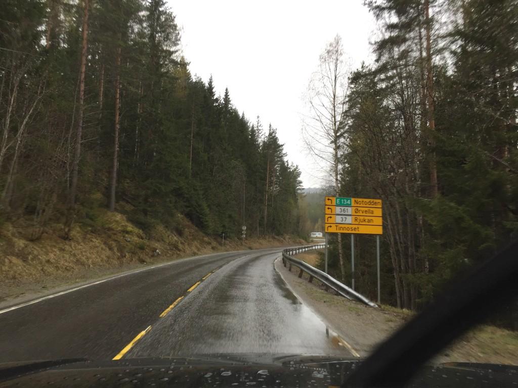 På farten mod Rjukan