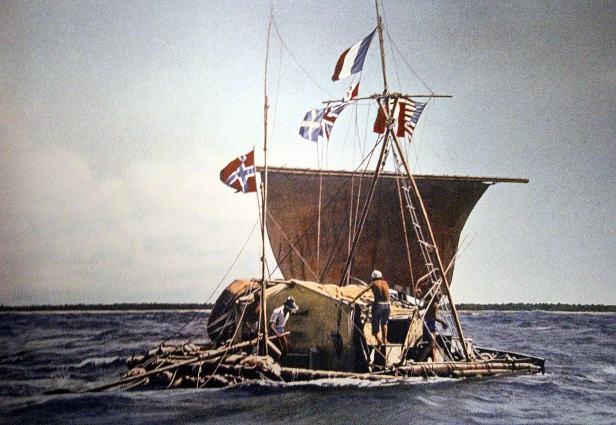 Kon-Tiki var en tømmerflåde, der blev bygget og sejlet under ledelse af nordmanden Thor Heyerdahl som led i Kon-Tiki-ekspeditionen i 1947 for at bekræfte hans teorier om, at folkevandringen til Polynesien i Stillehavsområdet kunne være foregået over havet fra Sydamerika.