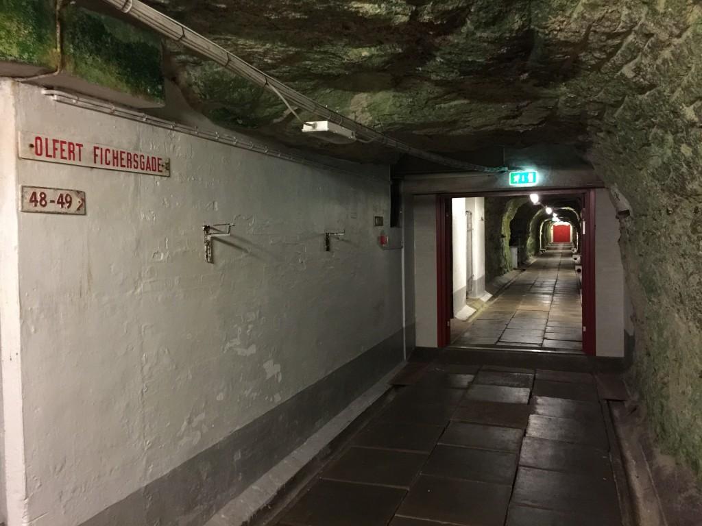 Nogle af gangene har fået gadenavne.
