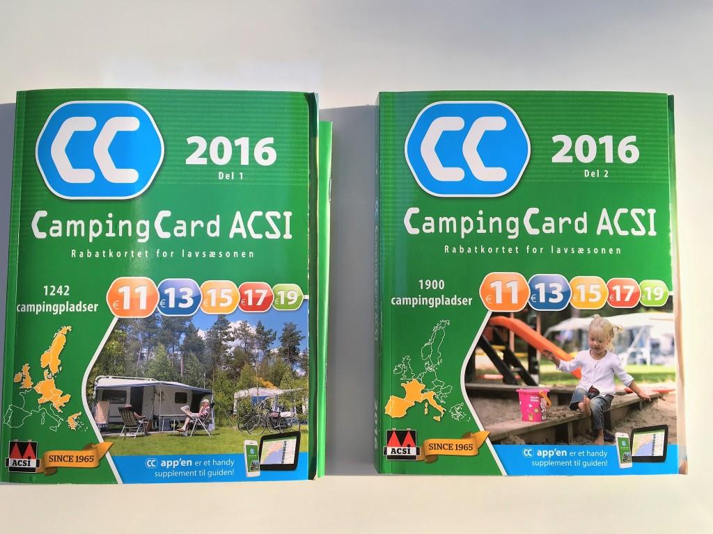 Du skal købe pakken med de 2 ACSI bøger for kr. 120 hos din lokale campingforhandler. Med bøgerne får du dit rabatkort til 3.200 campingpladser i Europa som tilbyder rabat i lavsæsonen.