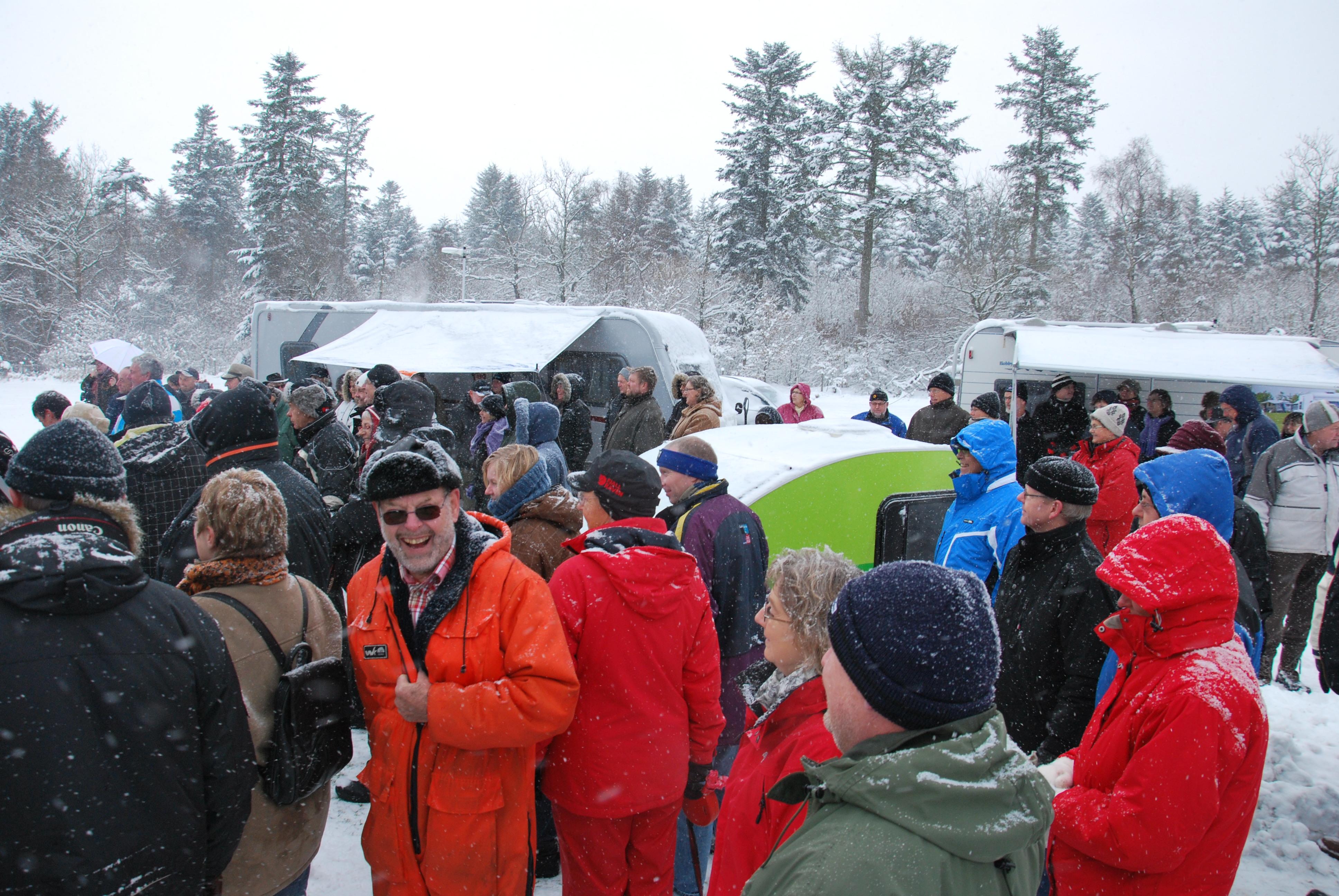 Vintercamping er værd at prøve