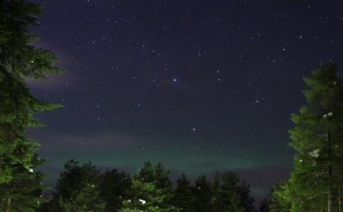 Jagten på Nordlyset – Del 9 – Jokkmokk til Umeå – Nordlys og Dethleffs
