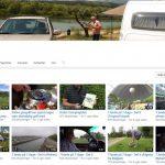 Masser af camping- og rejsevideoer