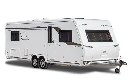 Hymer Eriba Nova SL 620 er til dig, som ikke ønsker at gå på kompromis