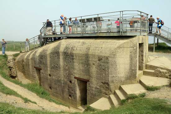 D-dag 6. juni 1944 - Signe & Peer Neslein har besøgt invasionskysten i Normandiet