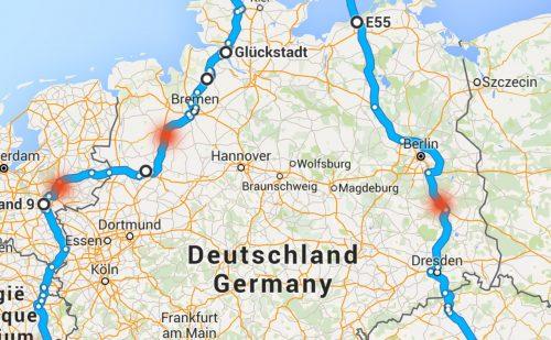 7 Lande på 7 dage – del 1 – Danmark til Tyskland