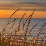 En smuk Skt.Hans aften på stranden