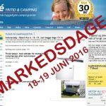 18 & 19 juni 2016: Markedsdage og Åbent Hus hos Bijé Fritid og Camping