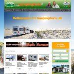Campingferie.dk præsenterer ny portal