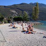 Autocamperplads ved Gardasøen