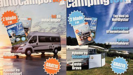 Så er det nye campingblad på gaden – nu 2 blade i 1
