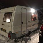 Vintertesten – del 2 – Danmarks billigste campingvogn