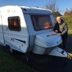 Vintertesten – del 1 – Danmarks billigste campingvogn