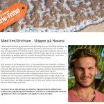 Ferie-Fritid 2017: Mød Emil Erichsen – Skipper på Havana