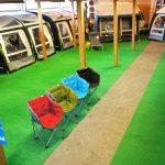 Oppustelige fortelte fra Kampa – er det store hit hos Antons Campingcenter i Videbæk