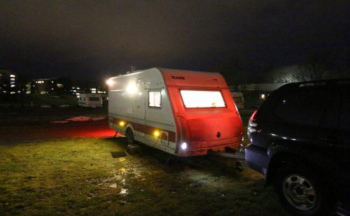 Nordlys Turen 2017 – del 2 – (Jönköping til Uppsala) Bad i vognen!