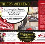 Alletiders Weekend 7. – 8. januar hos KG Camping