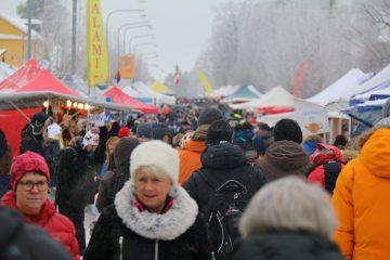 Nordlys Turen 2017 – del 5 (Samisk vintermarked i Jokkmokk)