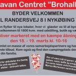 Caravan Centeret Brohallen byder velkommen på ny adresse
