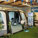 Ny Kampa teltudstilling hos Michaels CaravanService i Vejen