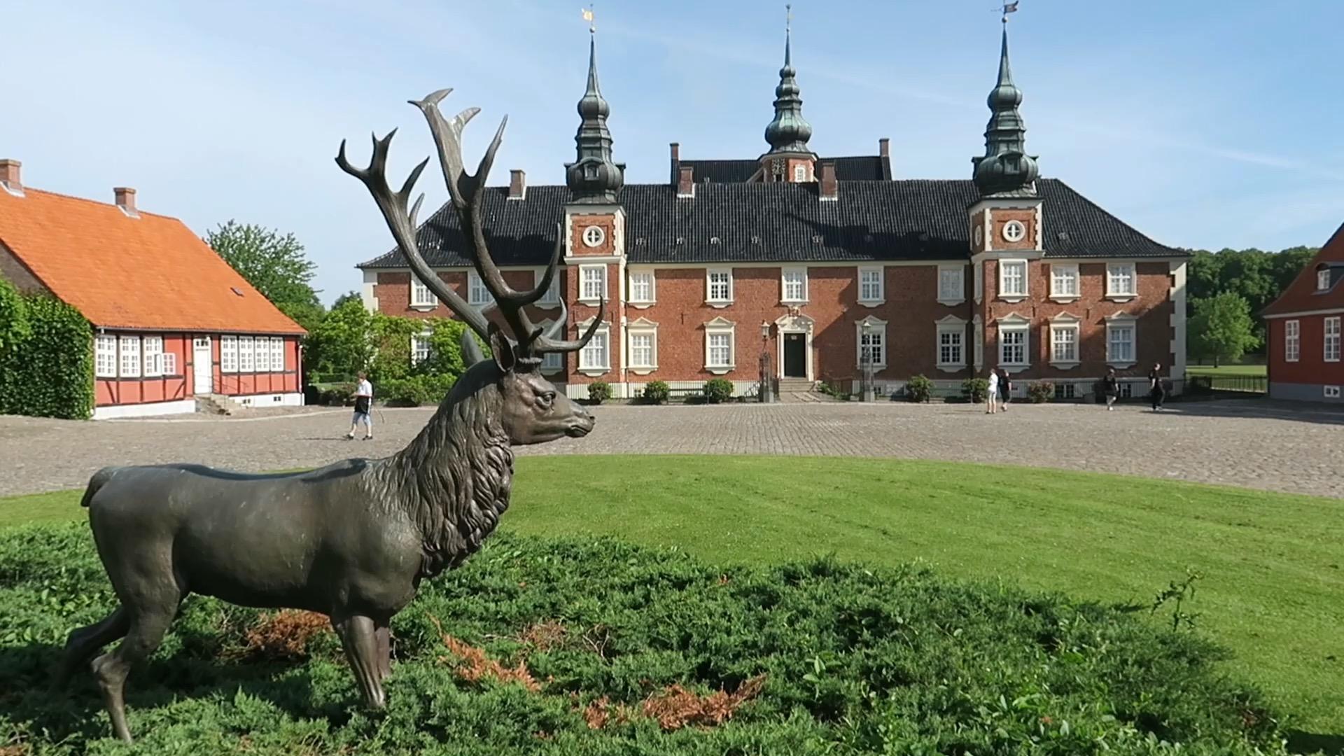Weekendtur 5 - til Jægerspris Slot, Færgen Columbus og Sølager Camping del 1 + film (Reklame)