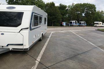 Hvad vejer din campingvogn? – Tysk Politi vejer Peer Nesleins campingvogn!