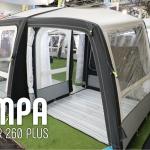 Nyt praktisk luft rejsetelt fra Kampa