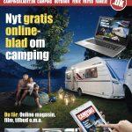 Gratis Campingblad direkte ind på din smartphone, Ipad og PC