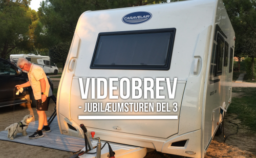 Videobrev – Jubilæumsturen del 3 – Caravelair Artica 455 (2018 model)
