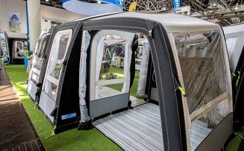 Kampa 2018: Luftfortelt til fastliggeren og den rejsende campist