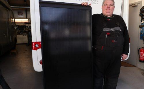 Tilbud på solcelle inklusiv montering