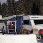 Jul på campingpladsen kan noget ganske særligt
