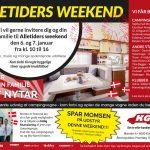 Kom til Alletiders Weekend 6. – 7. januar hos KG Camping