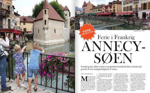 Ferie inspiration – Annecy – Søen i Frankrig