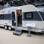 2018 – Hobby Prestige 720 KWFU – Familievogn med brusekabine i børneafdelingen