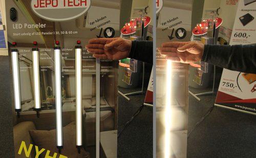 Ferie for Alle 2018-12 – Nyt LED panel, nyt autolamper og GPS tracker fra Jepotech