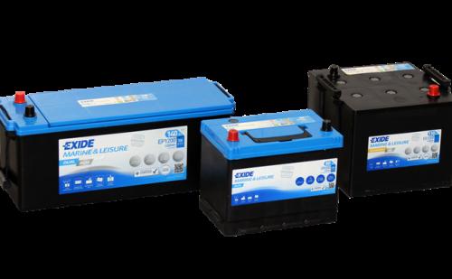 Exide opgraderer batterisortimentet – satser stort på fritidskøretøjer og både