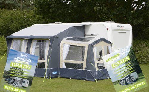 Nyt fortelt med på sommerferie? – Særtilbud fra Camping Agenten