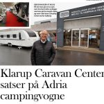 Klarup Caravan Center satser på Adria campingvogne