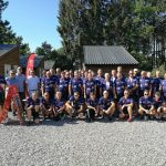 """Tour De Branche"" på Auning Camping"