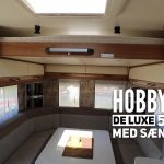 Sidste nyt: Hobby 2019 model med sænkeseng