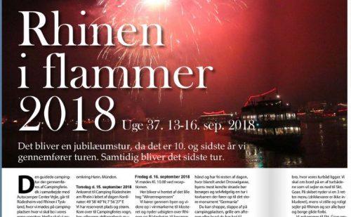 Rhinen i flammer 2018 – Jubilæumstur (Venteliste)