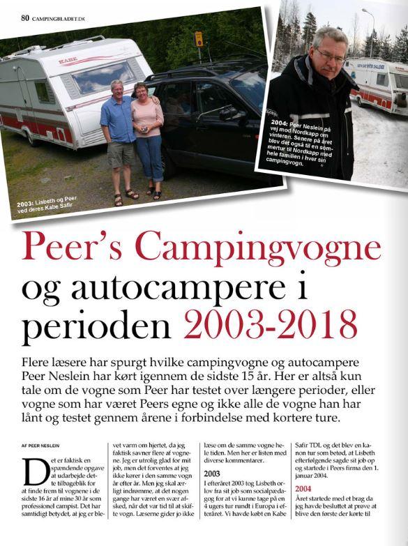 Peer´s Campingvogne og Autocampere