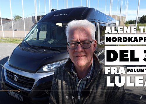 Alene til Nordkapp – del 3 – Falun til Luleå