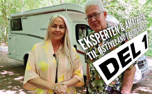 Eksperten & Amatøren i Østjylland – i Dethleffs autocamper