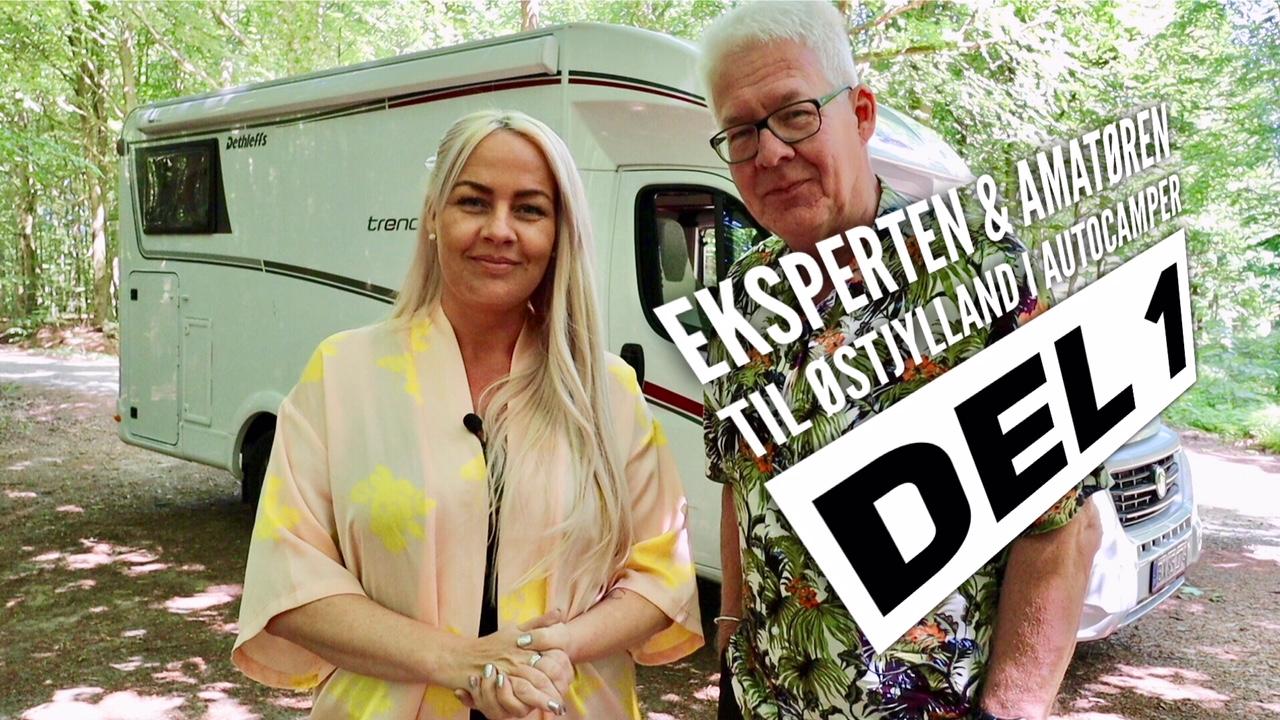 Eksperten & Amatøren i Østjylland - i Dethleffs autocamper
