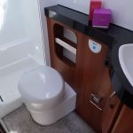 Hobby Excellent 540 FU (2019) Smart toiletrum med bruseniche