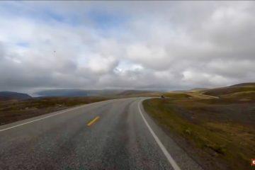 Nordkapp – de sidste 13 km til plateauet